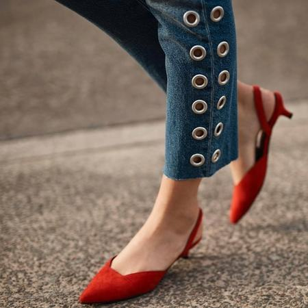 Sol Sana Kate Heel - Strawberry