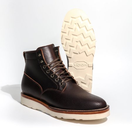 Viberg Scout Waxed Flesh 2030 Boot - Horween Brown
