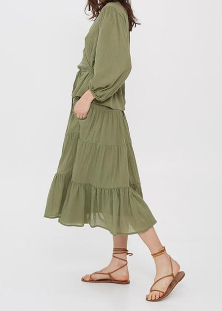 Loup Charmant Fontelli Skirt - Moss