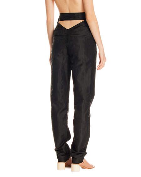 Rotate Belt Detail Trousers - Black