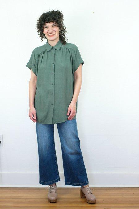 COKLUCH Gosford Shirt - Sage