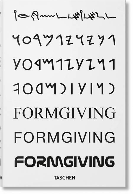 """Taschen """"FORMGIVING"""" Book"""