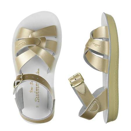 kids Saltwater Sandals Swimmer Sandals - Gold