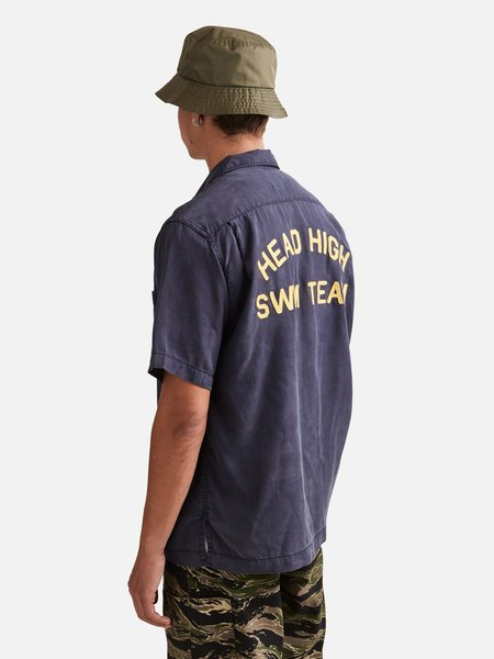 General Admission Head High Short Sleeve top - Navy