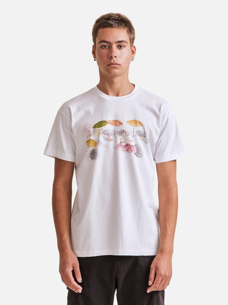 General Admission Russ Pope Beach Tee - white