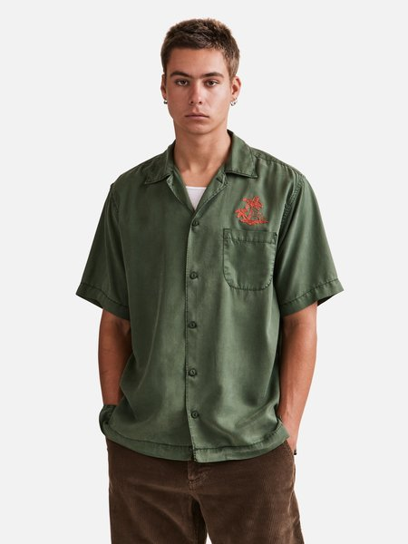 General Admission Sunset Short Sleeve Shirt - Green