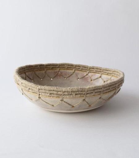 Siri Hansdotter Karen Gayle Tinney #642 Decorative Bowl - natural