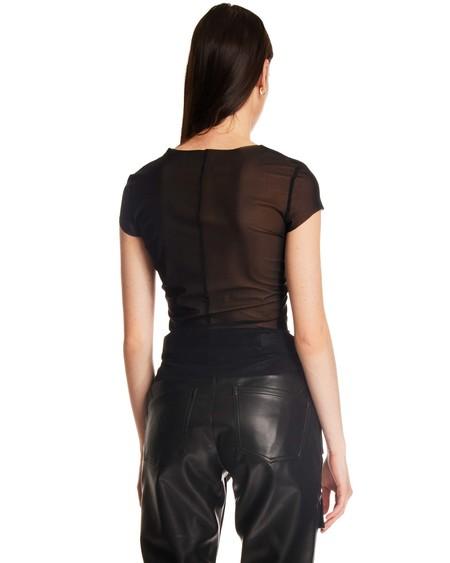MISBHV Semi-Transparent Logo T-Shirt - black