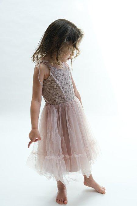 Kids Raised By Water Elle Dress - Lavender