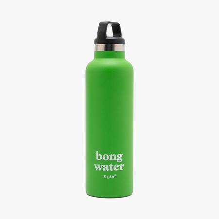 Mister Green Insulated Thermos Bong Water Flask - Green