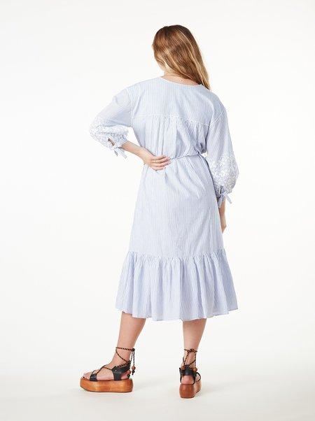 Cleobella Asteria Midi Dress - MIRAGE STRIPE