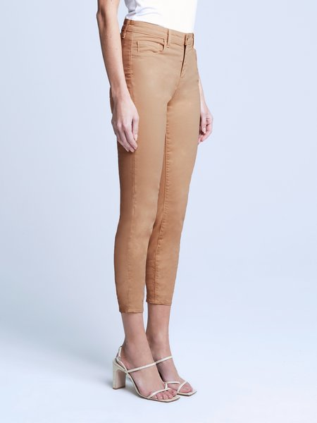 L'agence Margot Sateen Jean - Camel