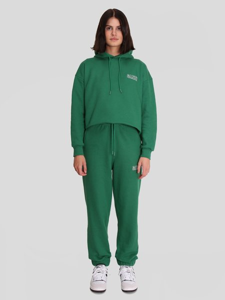 Ganni Elasticated Pants - Kelly Green