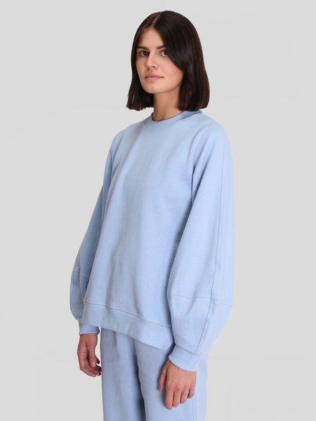 Ganni Puff Sleeves Sweatshirt - Heather