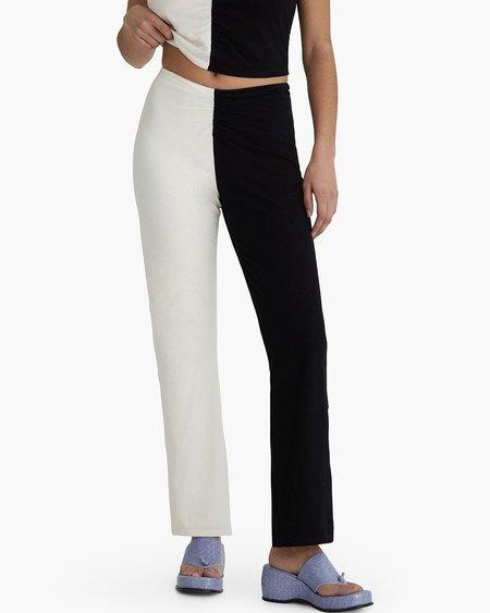 Paloma Wool Dama Pants - Black/White