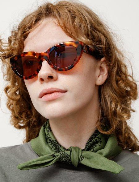 Sun Buddies Amy Leopard sunglasses - tortoise