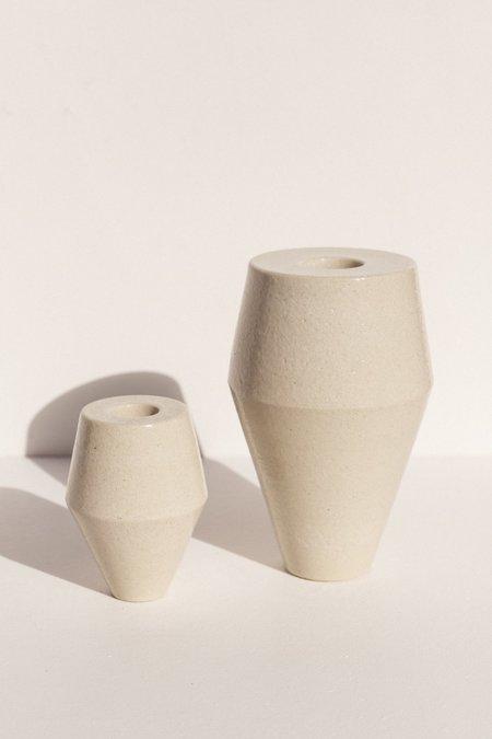 Alison Frith Small Ceramic Sculpture - Clear
