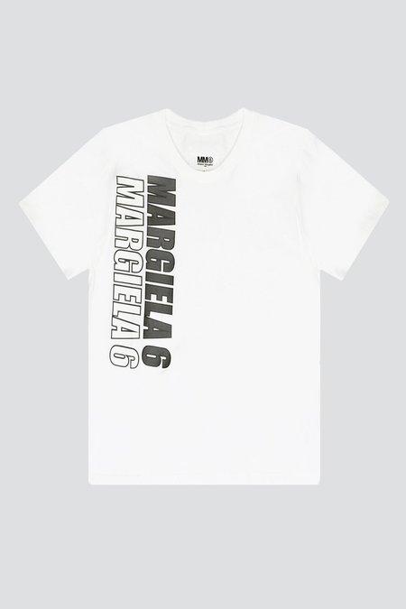 Unisex MM6 Maison Margiela Regular T-Shirt - White