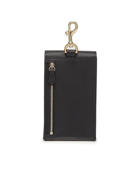 Officina del Poggio Phone Pouch - Black