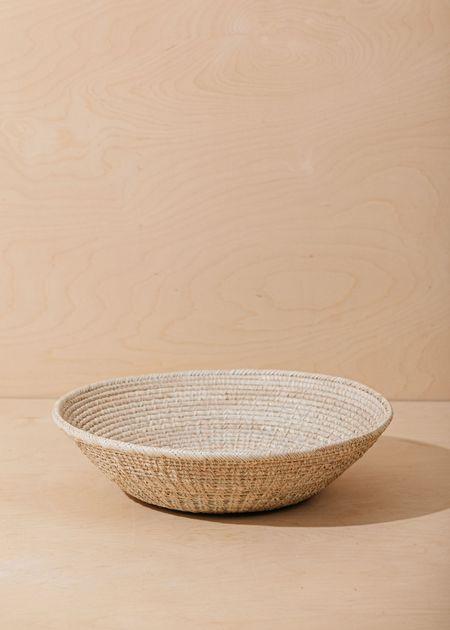 Territory Crossweave Basket - Natural
