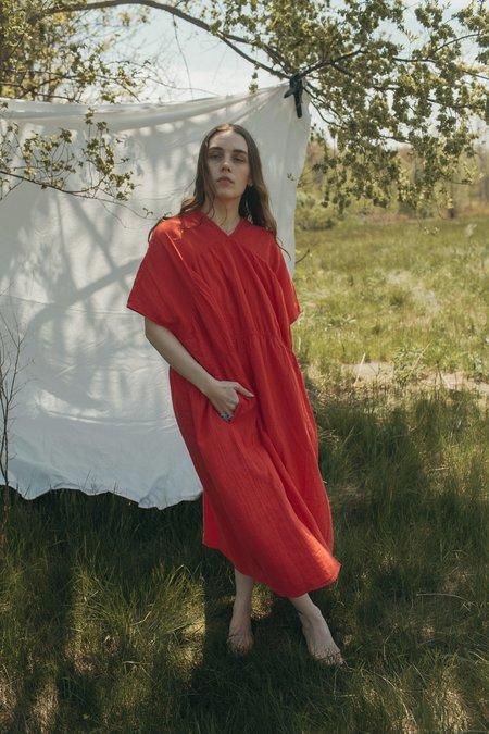 Atelier Delphine Lihue Dress - Watermelon