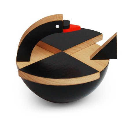 kids Kutulu Bula Wooden Swan toy