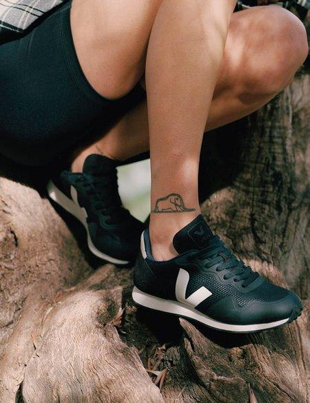 Veja SDU RT B-Mesh Vegan Trainers - Black/Natural