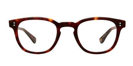 unisex Garrett Leight Douglas glasses - Brown