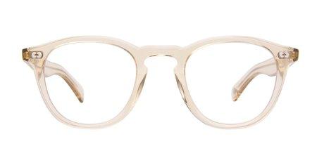 Garrett Leight Hampton X eyewear - natural