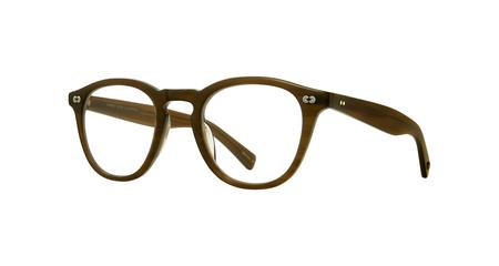 unisex Garrett Leight Hampton X Glasses - Brown