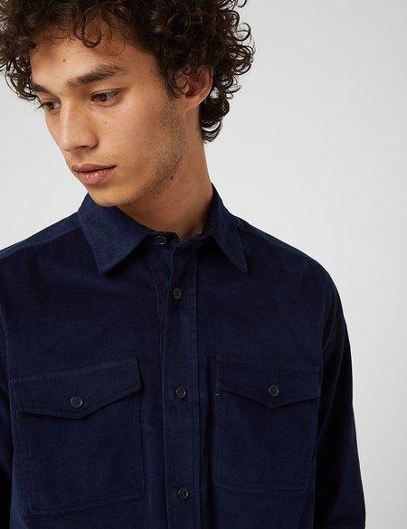 Bhode x Brisbane Moss Vintage Work Shirt- Navy Blue
