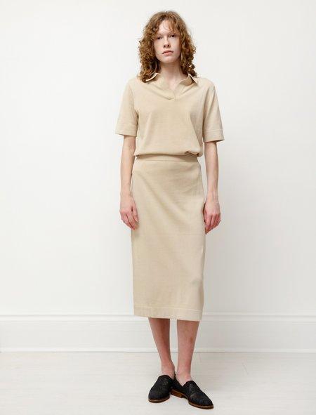 Norse Projects Irma Dry Cotton Skirt - Limestone