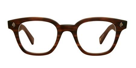 Unisex Garrett Leight Naples glasses - Brown