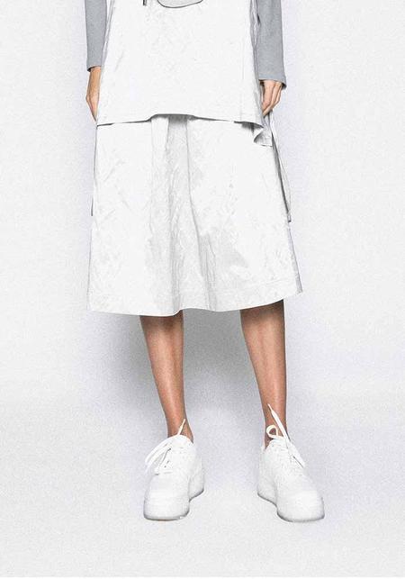MiiN Metallic Structured Skirt