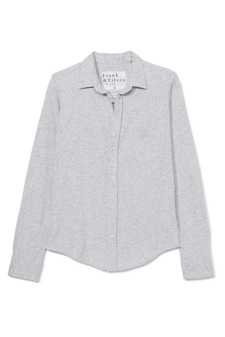 Tee Lab Barry Button Down - Gray Melange