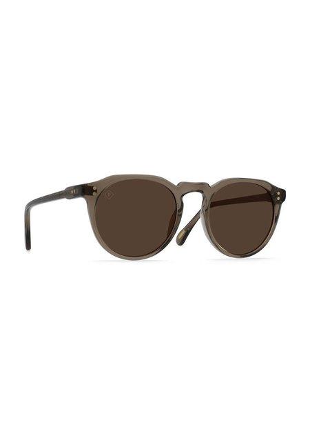 Unisex Raen Optics Remmy 49 Sunglasses - Ghost/Vibrant Brown