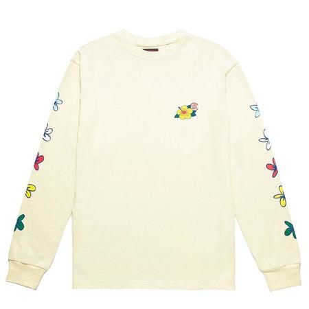 Clot Flowers Pint L/S Tee - Off White