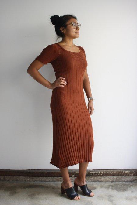 Diarte Margarida dress - brick