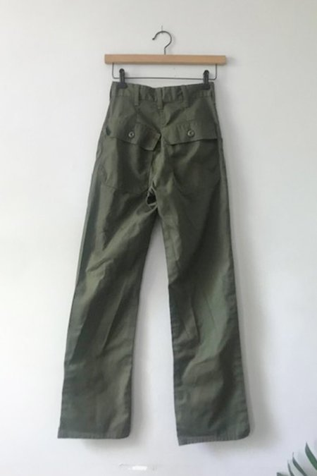 Forager Co. Dead stock 70's Army Fatigues pants - OLIVE GREEN