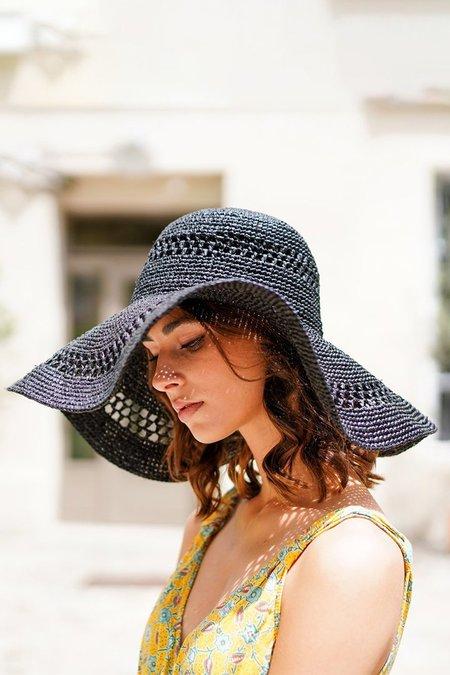 Maison N.H Paris Delphine Hat - Noir