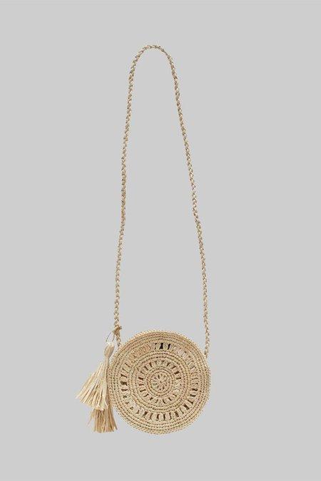 Maison N.H Paris Mini Cercle Bag - Natural