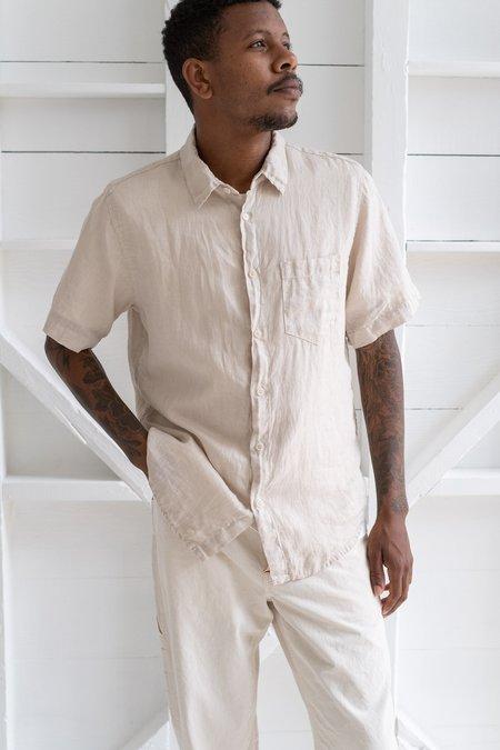 Cp Shades Short Sleeve Shirt - Cashew