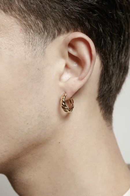 Wolf Circus Sadie Hoop Earrings - 14k Gold Plated Bronze