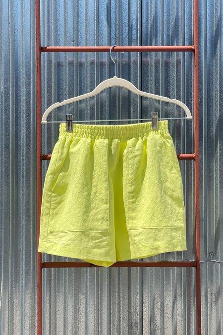 Ilana Kohn Woven Pogi Short - Key Lime