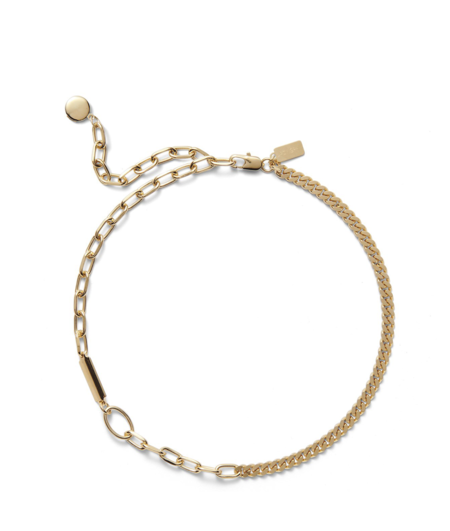 Lady Grey Collage Necklace - Gold