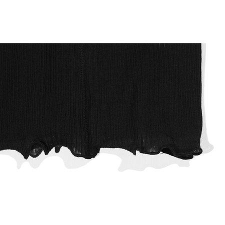 Baserange Pama T Neck sweater - Black
