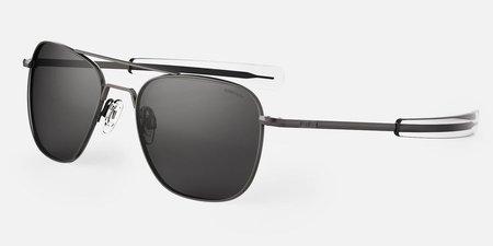 Randolph Engineering Aviator sunglasses - Gunmetal/Grey