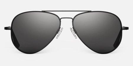 Randolph Engineering Concorde Polarised sunglasses - matt black/grey