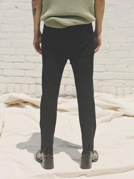 Judy Turner Jordans Ribbed Knit Dancer Legging - Nero