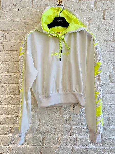 Iceberg Sweatshirt - neon/white